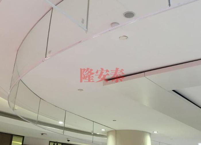 固定式刚性挡烟垂壁